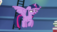 Twilight --such a thing as too much studying-- S6E21