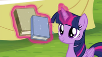 Twilight levitating books S4E22