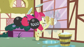 Apple Bloom scrubbing window S2E06.png
