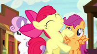 Apple Bloom super excited about the rodeo S5E6