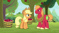"Applejack ""not sure how much help"" S9E10"