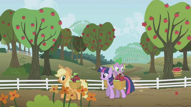 File:Applejack and Twilight S01E03.png