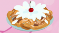 Cherry splashes on funnel cake icing S7E2.png