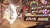 Discord pops into the tea store S7E12