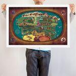 Equestria Map art print WeLoveFine