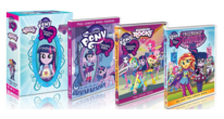 Equestria girls 3 movie gift set