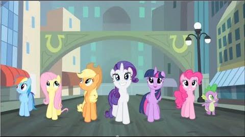 European Portuguese My Little Pony Generosity Song HD