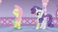 Fluttershy finishes her speech S1E14.png