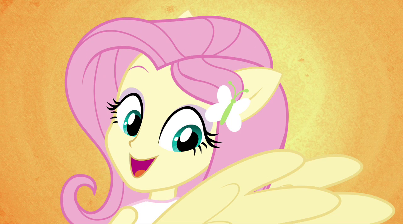 imagen fluttershy sprouts pony ears and wings eg2 png my little