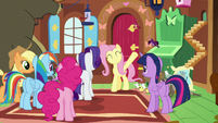Fluttershy very excited to realize her dream S7E5