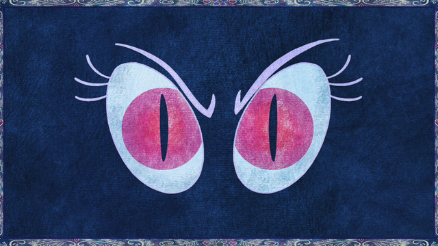 Berkas:Nightmare Moon eyes depicted in legend S1E1.png
