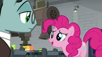 "Pinkie ""make ponies happy in real-time"" S9E14"