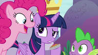"Pinkie ""terrifying level of responsibility"" S9E13"