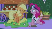 "Pinkie Pie ""I ate the food, too!"" S9E17"