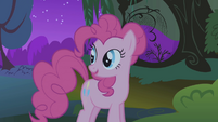 Pinkie Pie 'Especially if there's candy apples in there' S1E02