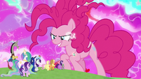 Pinkie Pie filled with chaos magic S9E25