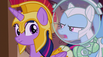 Rainbow -did she just say 'tea party'-- S5E21