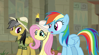 "Rainbow Dash ""didn't see that coming"" S9E21"