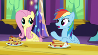 Rainbow Dash -she'd rather keep losing than- S5E3