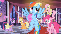 Rainbow Dash rolling eyes S2E9