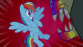 Rainbow Dash scared of zombie Harry S6E15.png
