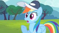 Rainbow Dash shocked S4E05