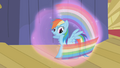 Rainbow about to fall under Trixie's spell S1E06.png