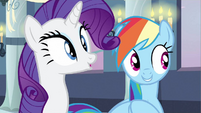 Rarity & Rainbow Dash were not S2E25