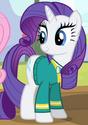 Rarity Pony Tones attire ID S4E14