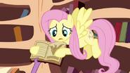 S3E05 Spike bierze książkę od FS