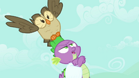 "Spike and Owlowiscious ""this better be important"" S03E11"