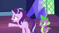 Starlight Glimmer -the map's only ever sent us- S7E26