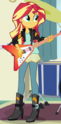 Sunset Shimmer new outfit ID EG3