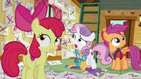Sweetie Belle --can't believe you tried all this stuff-- S6E4