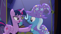 Twilight --I could never have pulled off a trick like that-- S6E6