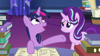 "Twilight Sparkle ""the ponies that created them"" S7E26"