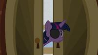 Twilight peeks into Flim and Flam's office S8E16