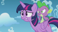 Twilight witnessing Starlight's manipulation S5E25