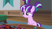 Young Starlight saddened by Sunburst's anger S7E24