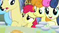 Apple Bloom squeezes to front of the crowd S7E13.png