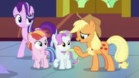 "Applejack ""everythin' we've been through worth it"" S7E14"