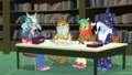 Big Mac, Snips, Snails, and Trixie in the RPG club EGDS4.png