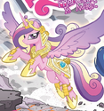 Comic issue 6 Princess Cadance battle armor