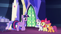 "Cutie Mark Crusaders ""we're glowing!"" S8E6"