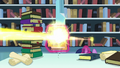 Flurry Heart's magic beam goes through the Trotter's Tome of Reliquary S6E2.png