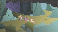 Fluttershy's unexpected appearance S01E07