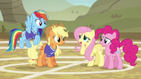 Fluttershy --we're too afraid of letting ponies down-- S6E18