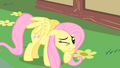Fluttershy about to discover Pinkie S1E25.png