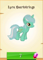 Lyra Heartstrings MLP Gameloft