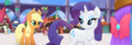 MLP The Movie Hasbro website - Applejack and Rarity.png